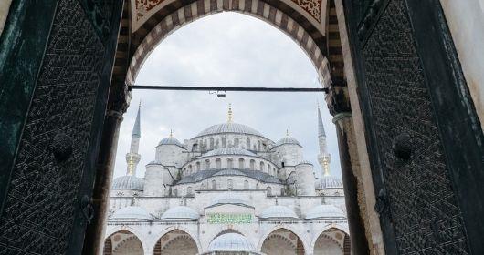 جولة إرشادية في المسجد الأزرق في اسطنبول