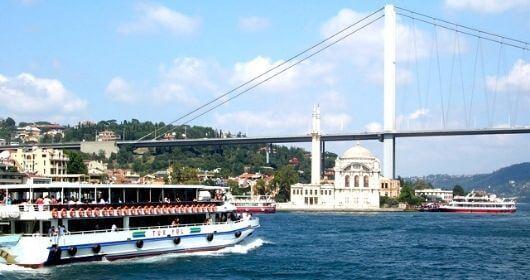 رحلة البوسفور في اسطنبول