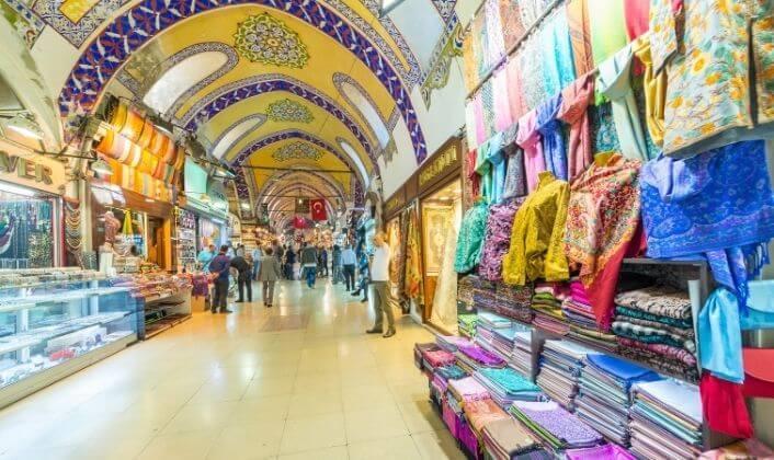 البازارات التاريخية في اسطنبول