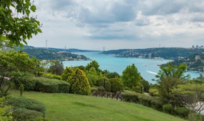 المتنزهات والحدائق في اسطنبول