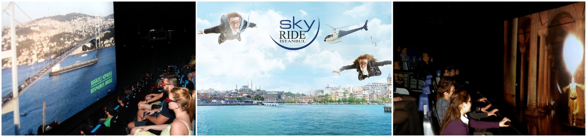 Simulación Estambul 4D SkyRide